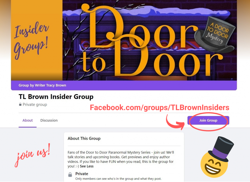 Join Author TL Brown's Facebook Group