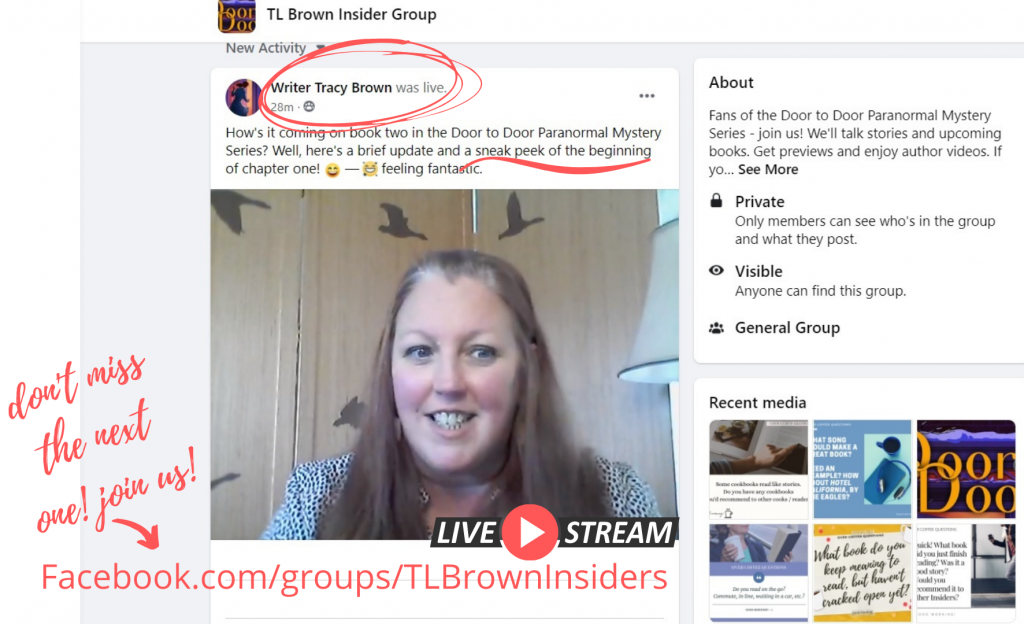 Join the Facebook TLBrown Insiders group