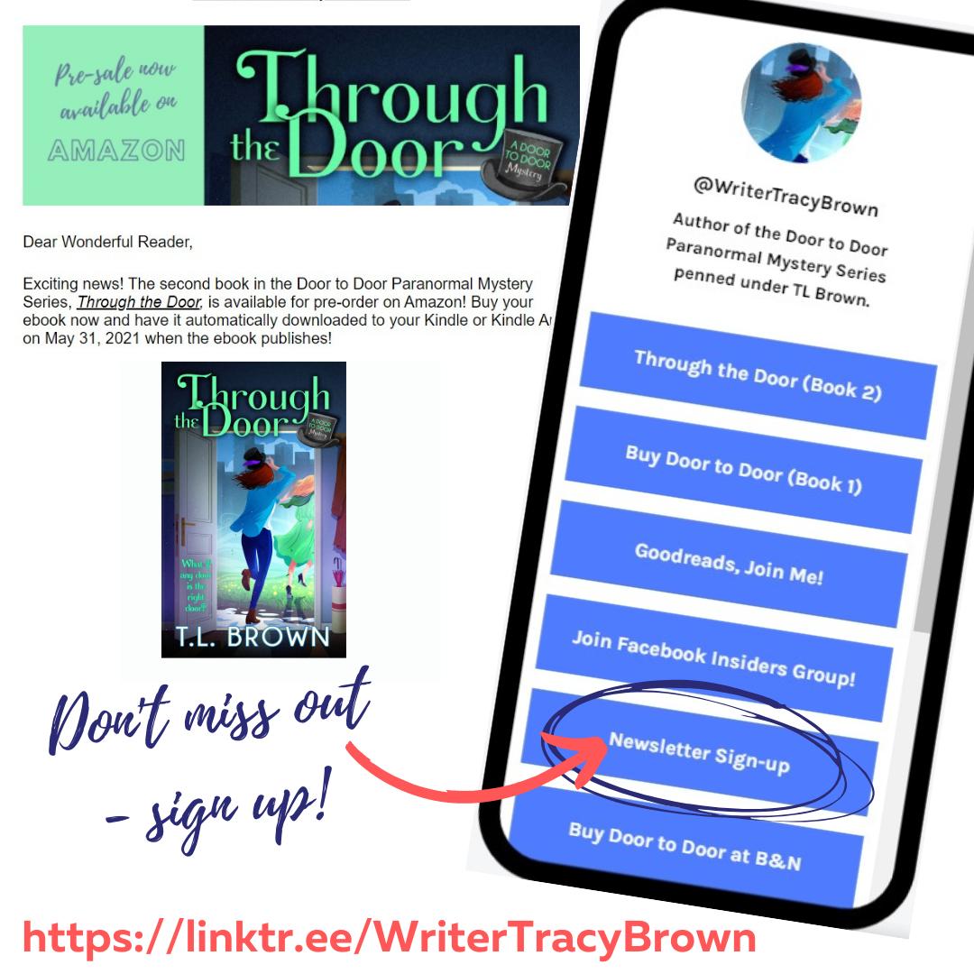 Sign-up for Door to Door Newsletter