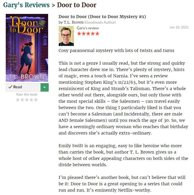 Another great Door to Door Review