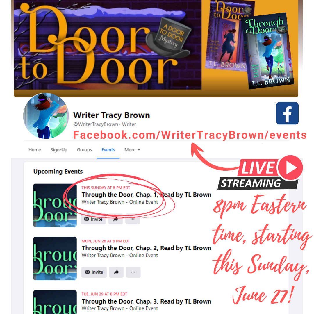Reading Through the Door in Facebook LIVE videos