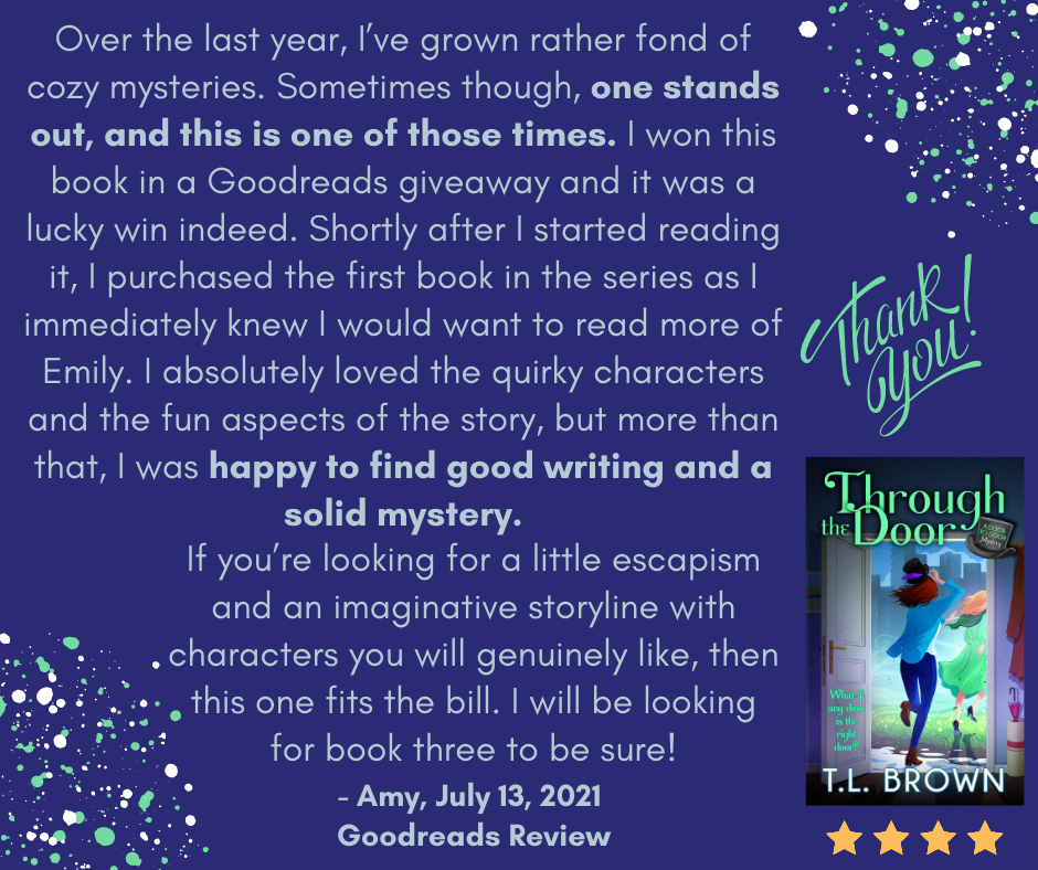 Review of Through the Door by TL Brown