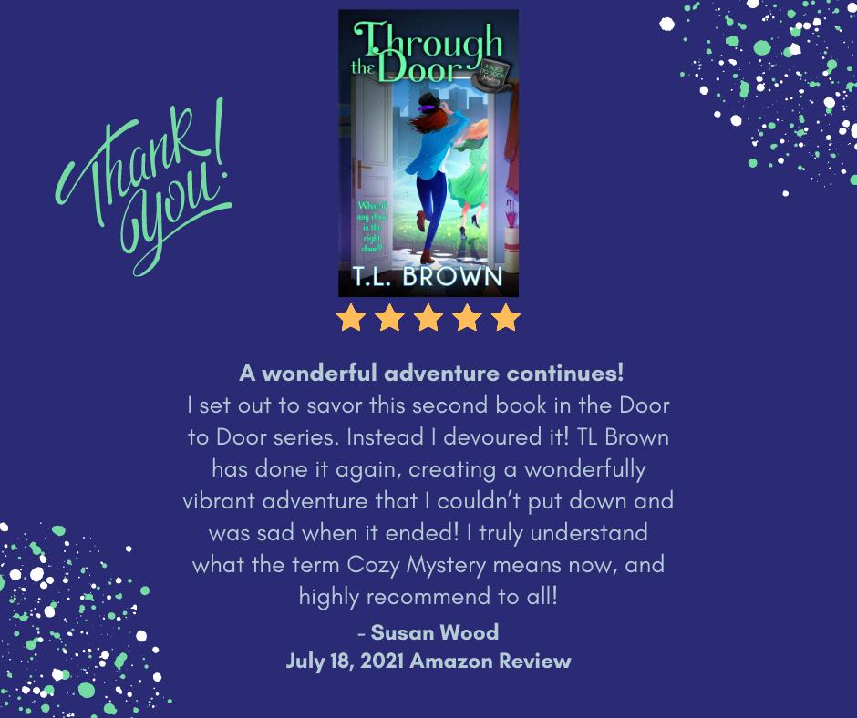Amazon Review of Through the Door