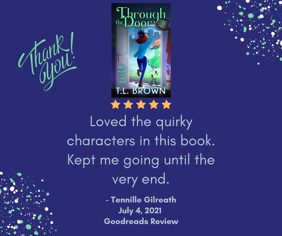Goodreads review of Through the Door