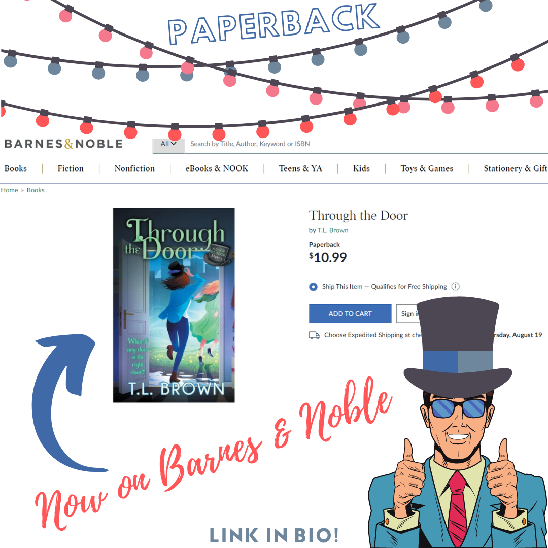 Through the Door is now on Barnes and Noble