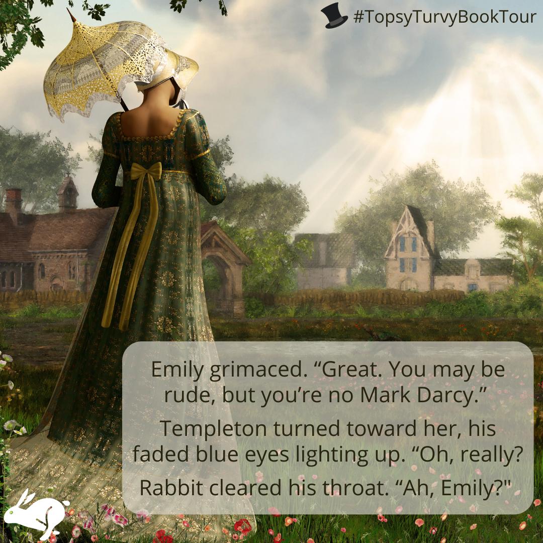 TopsyTurvyBookTour Jane Austen