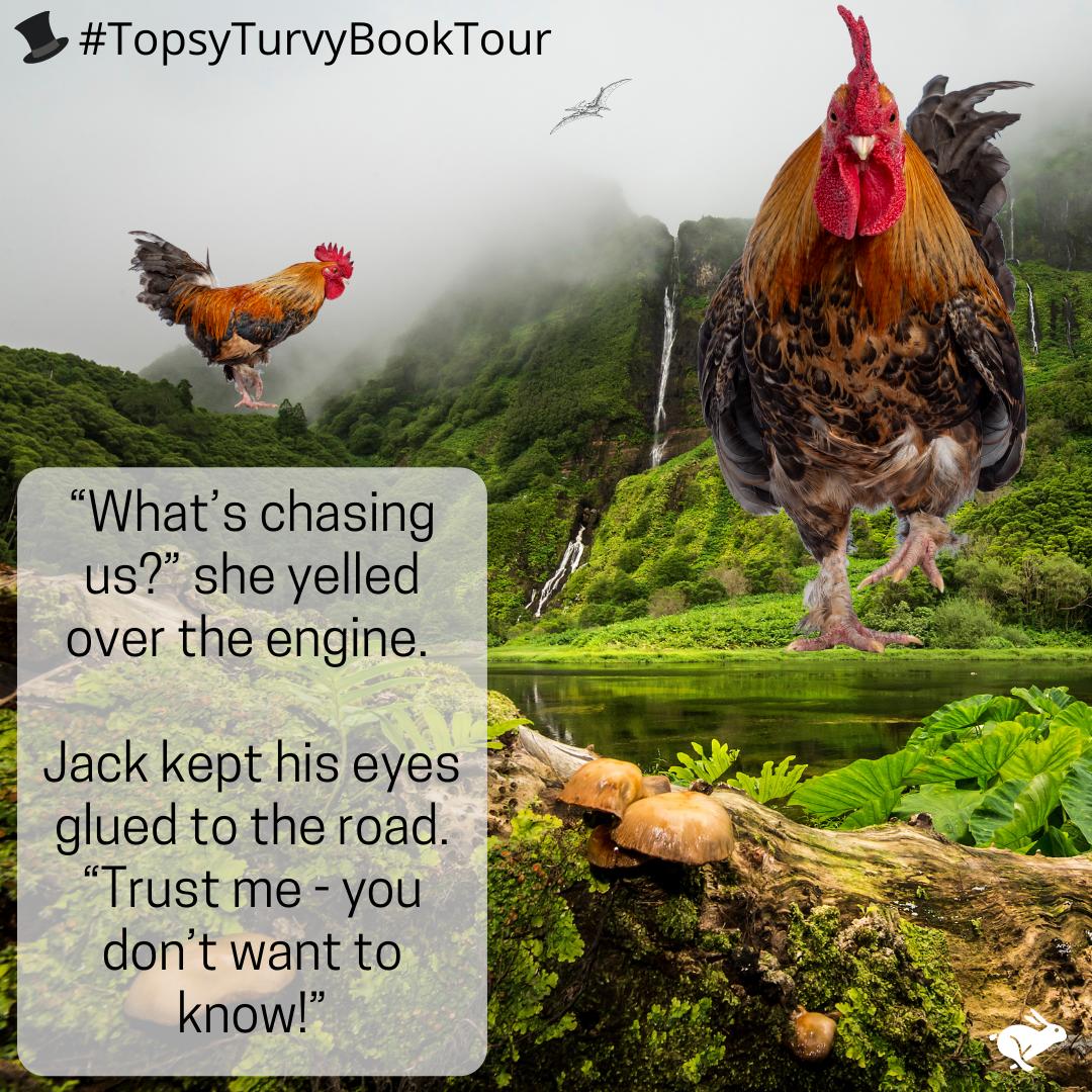Topsy Turvy Book Tour Jurassic Park