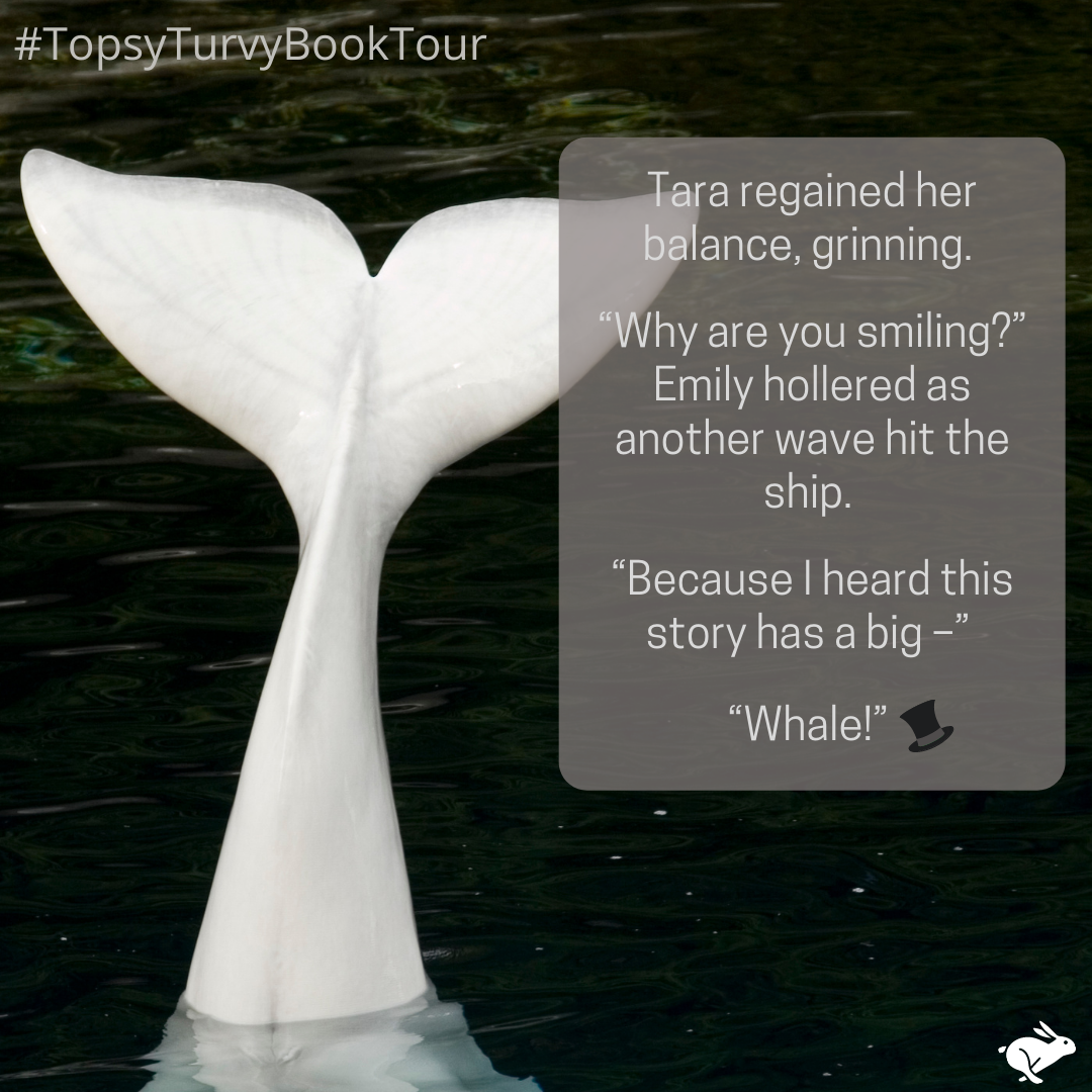 Topsy Turvy Book Tour Moby Dick