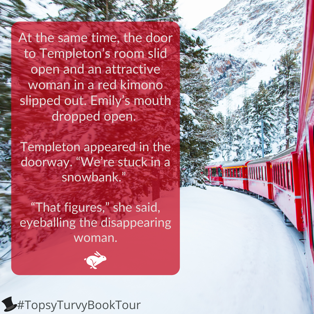 Topsy Turvy Book Tour Murder on the Orient Express