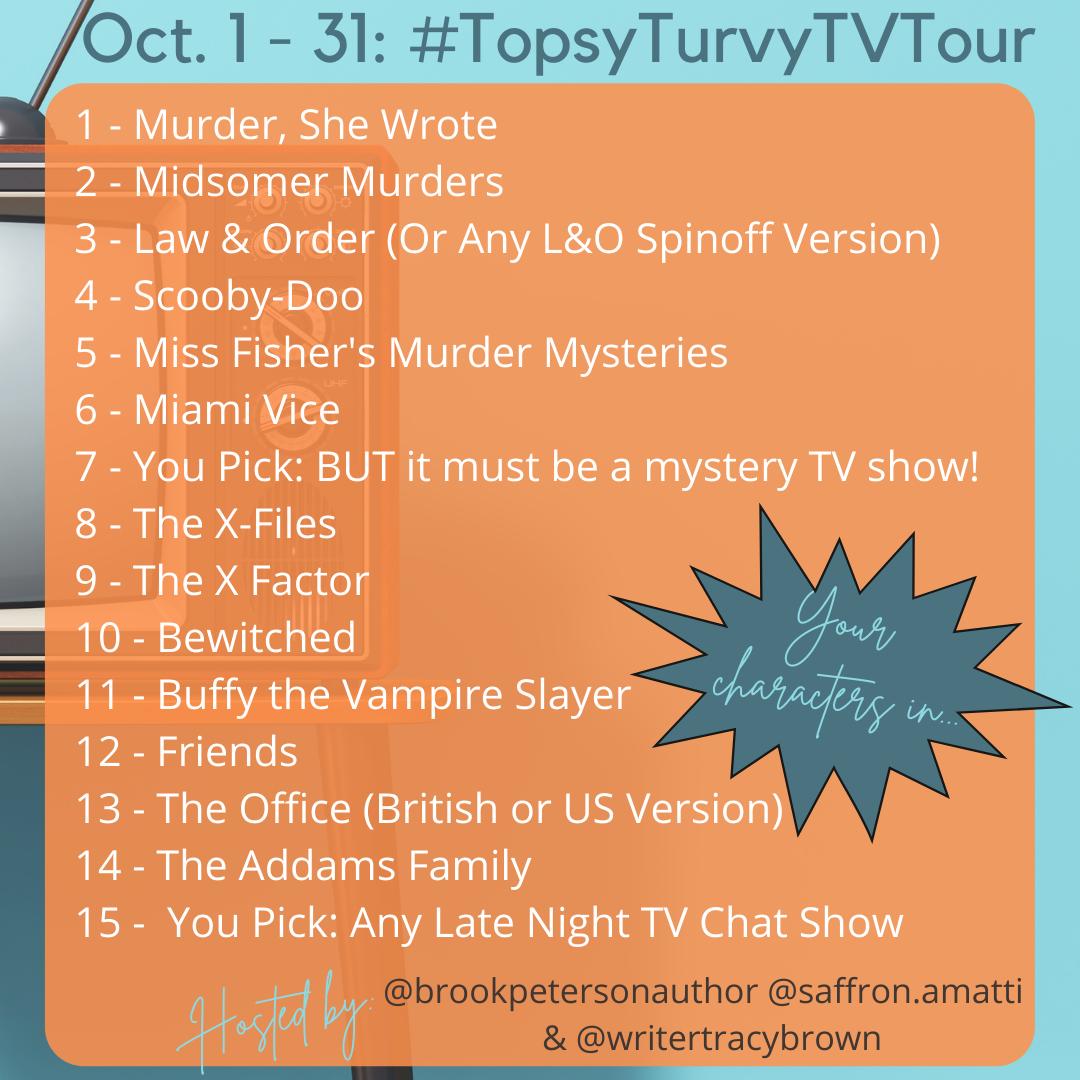TopsyTurvyTVTour Prompts 11 through 15