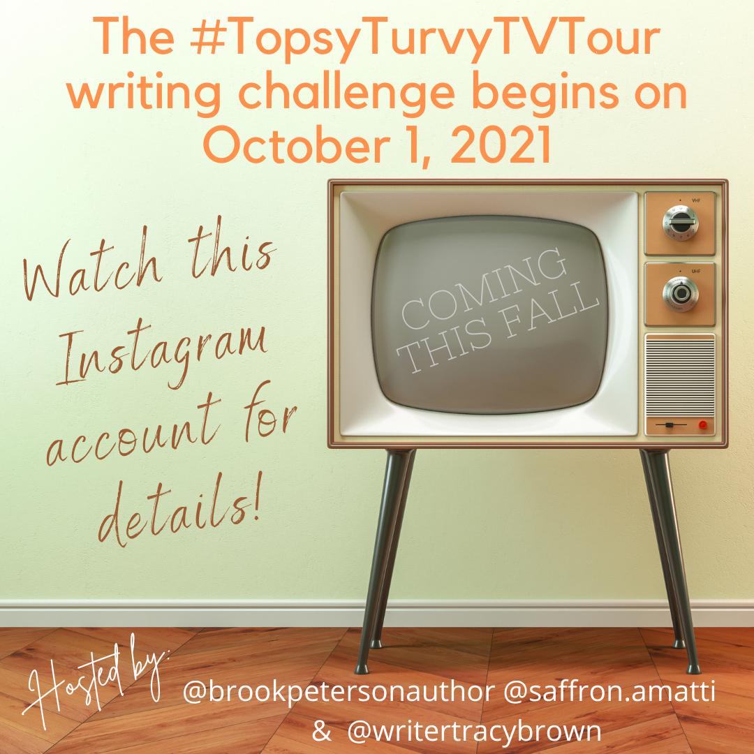 October 2021 Topsy Turvy TV Tour on Instagram