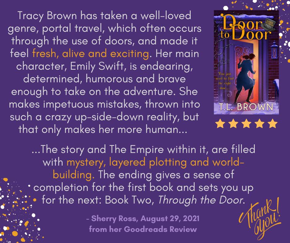 Abbreviated review of TL Brown's Door to Door
